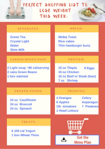 Grocery List to Lose Weight
