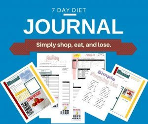 7 DAY Weight loss Journal