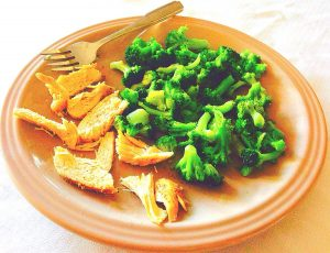 150 Calorie Diet Dinner Plate