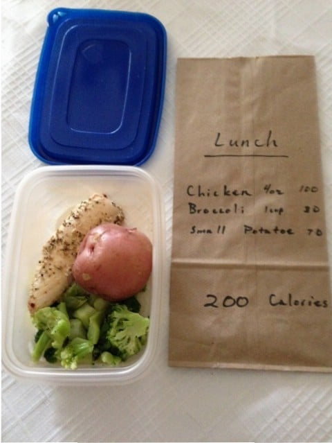 low claorie sack lunch ideas