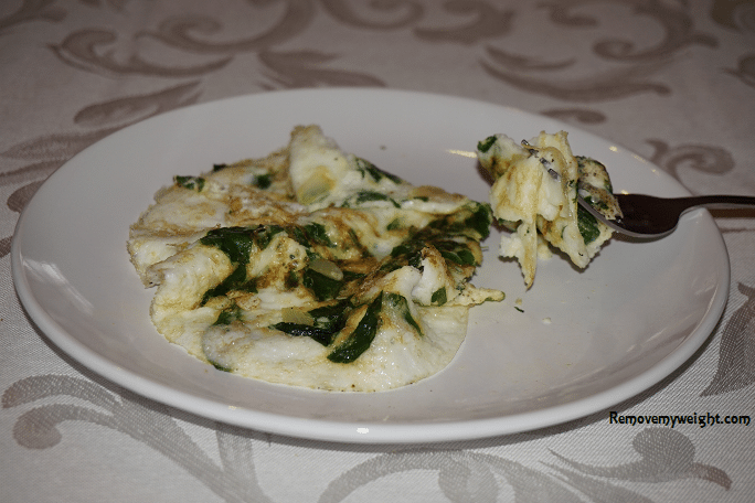 Low Calorie High Protein Omelet