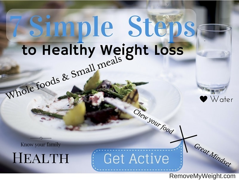 7 Simple Steps to Healthy Weight Loss Summary