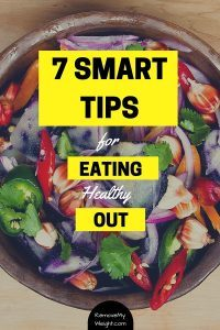 Tips for a healthy Dinner out
