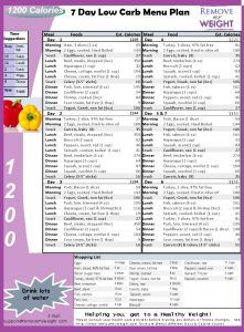1500 Calorie Body by Vi Healthy Meal Plan ...