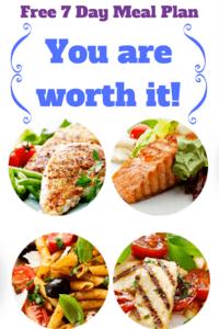 Simple 1200 Calorie Menu Plan to Lose Weight
