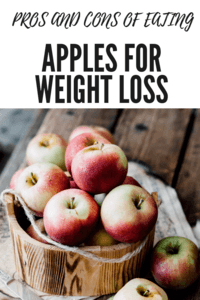 Apples for Weight Loss - Pros and Cons of eating