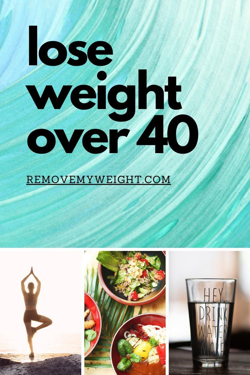 How To Lose Weight Over 40 Years Old