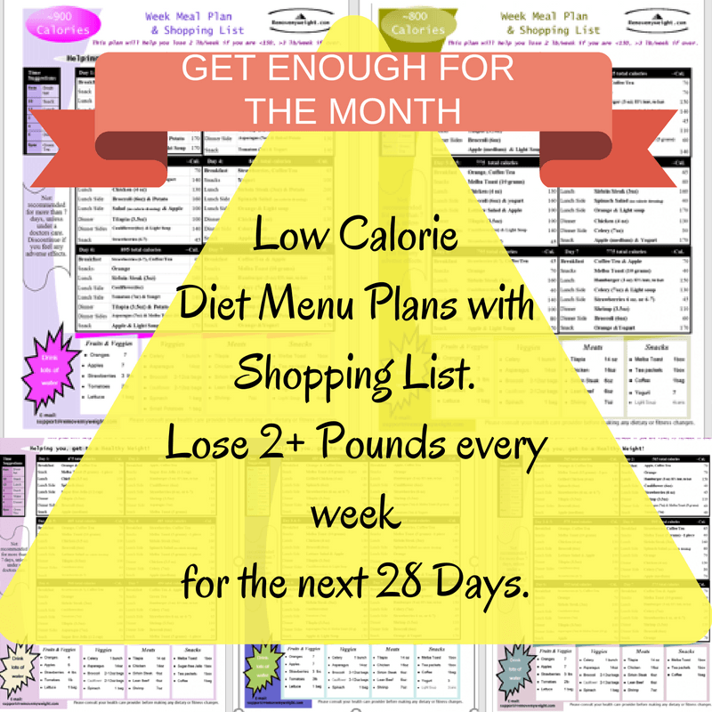 21 Day Slim Down Challenge - Simple Weight Loss Menu Plans